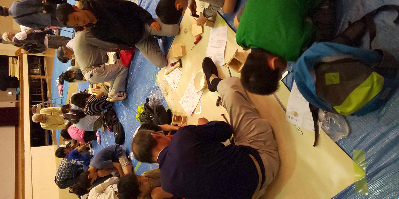 6月9日(日)に東大和市長公民館にて、東大和こどもまつりを開催しました。参加した子どもたちは合計で36名、子どもたちが笑顔で帰ってもらえるよう尽力しました。